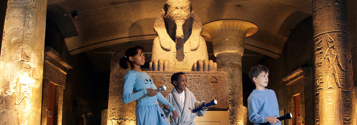 40 Winks with the Sphinx Sleepover Program at the Penn Museum
