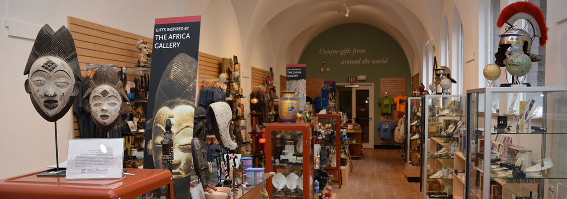 Museum Gift Shop at the Penn Museum
