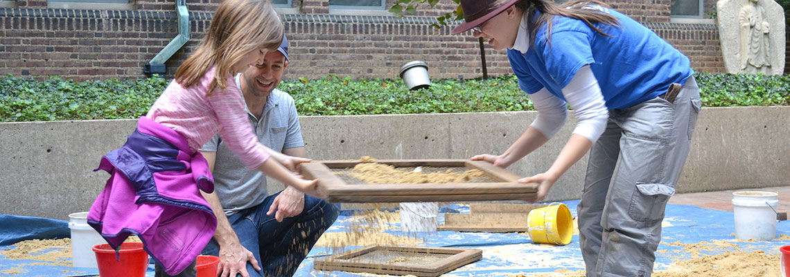 Kids and Family Public Programs at the Penn Museum.