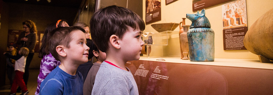 Homeschool Day program at the Penn Museum..