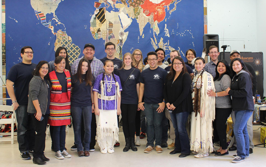 Group photo of the Natives at Penn members.