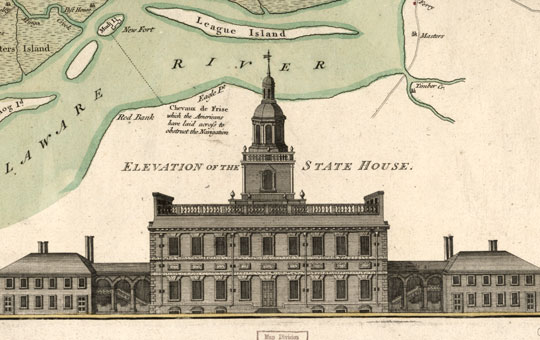 Old art of the State House.
