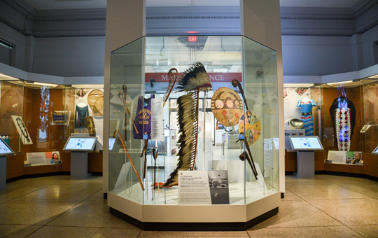 The Native American Voices Galleries