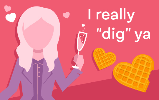 Graphic for Galentine's Day