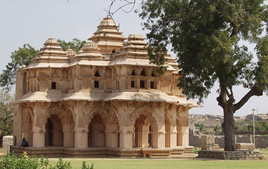 Lotus Mahal at Hampi