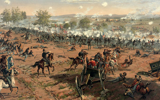the battle of gettysburg by henry alexander ogden