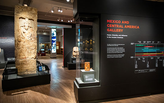 View of the Mexico and Central America Gallery