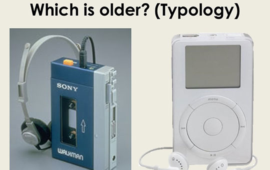 example of topology by comparing age of two devices