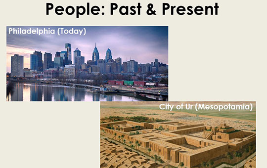 examples of past and present cities