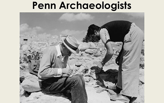 penn archaeologists digging in Rome