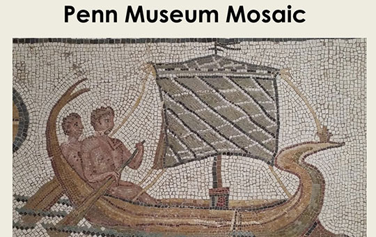 example of an ancient mosaic