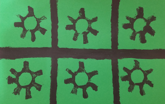 An image of the activity Adinkra Stamps
