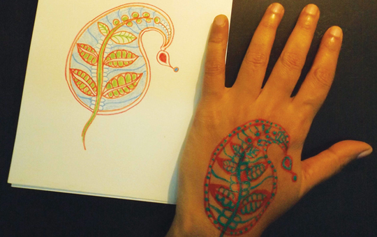 An image of the activity Mehendi
